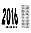 2016 Perspective Icon vector image vector image