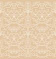 damask vintage seamless pattern vector image vector image