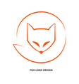 fox-logo-design-1 vector image