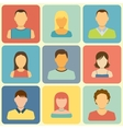 Set of People Icons vector image
