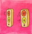 Speakers Cartoon vector image vector image