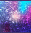 abstract geometrical background mosaic vector image