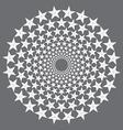 Circular stars vector image vector image