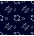 Dark Snowflakes Background vector image vector image