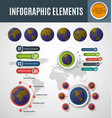 infographic element set8 vector image vector image