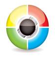 Modern icon concept vector image