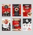 poster for japanese sushi bar or restaurant vector image vector image