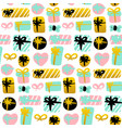 present seamless pattern vector image vector image