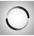 Round Brush Frame vector image vector image