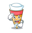 Sailor ice cream tone character cartoon