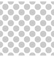 simplae geometric seamless pattern easy vector image