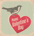 valentines day card design concept vector image