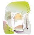 Abstract Window Sketch vector image