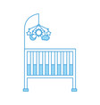 Cot baby shower with mobile toy furniture infant