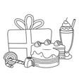 Isolated happy birthday surprise design