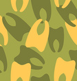 Military camouflage from teeth Dental army texture vector image