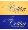 Two colibri banners vector image vector image