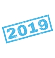 2019 Rubber Stamp vector image vector image