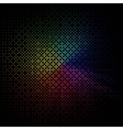 abstract colored background on black vector image vector image