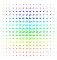 eco startup shape halftone spectral grid vector image