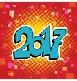 figures 2017 symbol new year vector image vector image