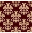 French fleur-de-lis seamless pattern background vector image vector image