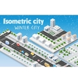 Isometric module of the modern vector image vector image