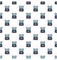 modern backpack pattern seamless vector image