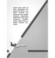plane symbol dark infographics vector image vector image