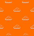 rainy cloud pattern seamless vector image vector image
