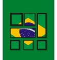 Rio Brazil 2016 Olympic Summer Games Abstract vector image