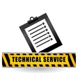 technical service and call center icon design vector image vector image