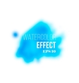 Watercolor colorful stain mesh vector image vector image