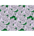 Wedding Rose Seamess Pattern vector image vector image
