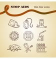 World Aids Day concept vector image vector image