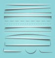 shadow effect collection vector image