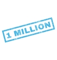 1 Million Rubber Stamp vector image vector image