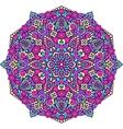 Abstract Flower Mandala Decorative ethnic element vector image vector image