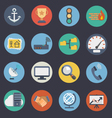 Flat Icons for Web and Applications Set 3 vector image