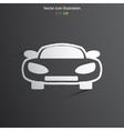 car web icon vector image vector image