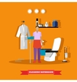 Cleaning service concept vector image