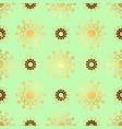 gold circle seamless pattern abstract gold vector image