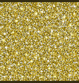 gold glitter seamless pattern background vector image vector image