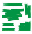 green paint background vector image vector image