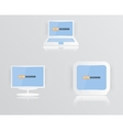 Monitor icon blue 010413