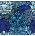 Seamless pattern eastern filigree background vector image