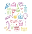 Birthday Party Image Collection vector image