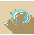Big wave icon flat style vector image vector image