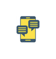 comments icon vector image vector image