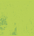 green grunge texture vector image